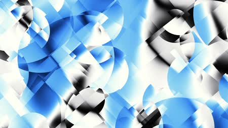 kübizm : Transforming abstract shapes. Abstract geometric background. Seamless looping footage. Stok Video