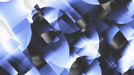 街 : Transforming abstract shapes. Abstract geometric background. Seamless looping footage. 動画素材