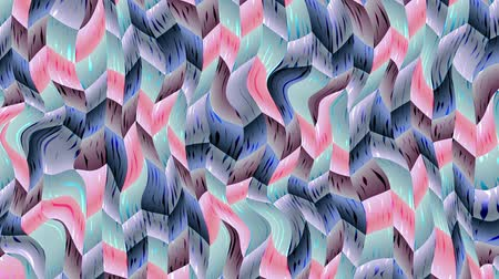 kübizm : Wavy moving stirring background. Psychedelic background. Seamless looping footage.