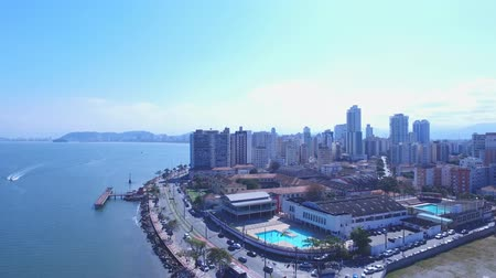santos : Aerial footage The Port of Santos-The Port of Santos is located in the city of Santos, Brazil. It is the busiest container port in Latin America.Today it is Latin Americas largest port