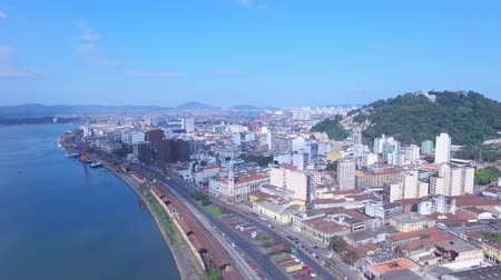 santos : Aerial footage The Port of Santos-The Port of Santos is located in the city of Santos, Brazil. It is the busiest container port in Latin America.Today it is Latin Americas largest port.July, 2016.