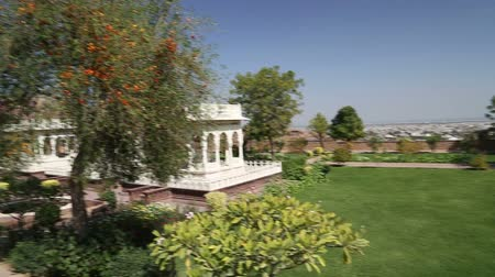 saray : Panoramic view of Jodhpur palace, India