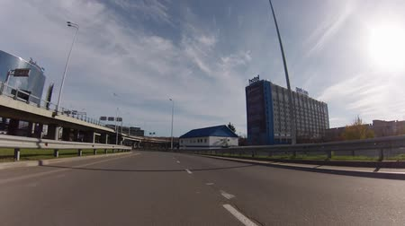 d day : MOSCOW, 19 OCT 2014. Driving thru Sheremetyevo airport. Terminal D, arrival zone ground floor