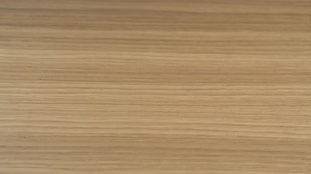 havlama : Textured wood finish treated and varnished. Blank for design. Material for the manufacture of furniture. Close up