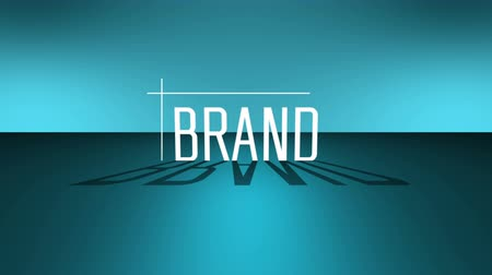 bejelent : Brand loyalty, marketing, corporate business strategy. 4K UHD video animation loop.