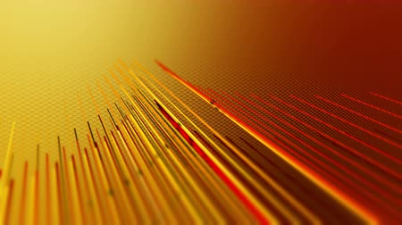 perforation : Orange red background loop animation with stripes and lines. 4K UHD motion video.