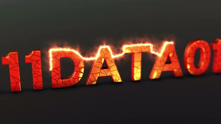 Digital data loss prevention and security video animation