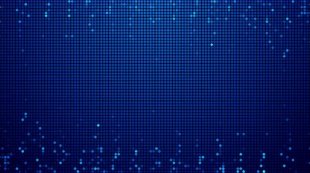 Flashing blue LEDs animated seamless loop modern design video background