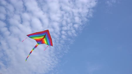 Colorful kite Stock Footage