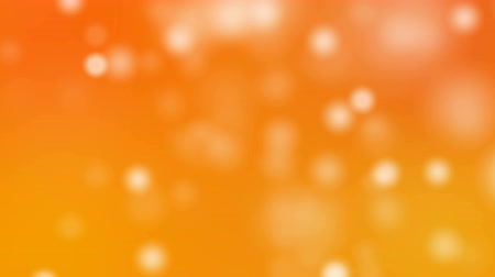 orange background : White glitter background - seamless loop, winter theme on colourful background look like snow computer generated