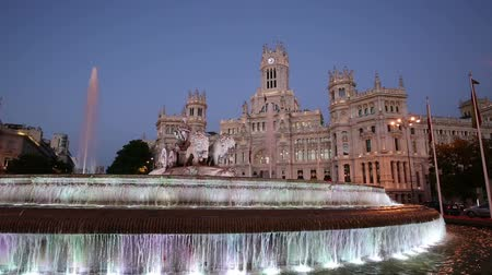 palacio real : Cibeles Square, Madrid, Spain