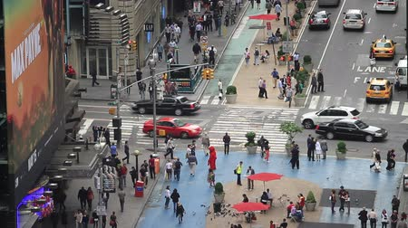 high speed road : Times Square traffic