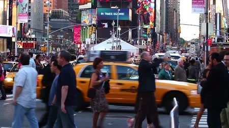 quadrado : Times Square traffic