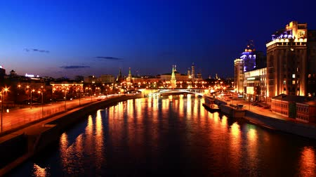 Evening Moscow. Russia