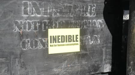 sign for inedible offal