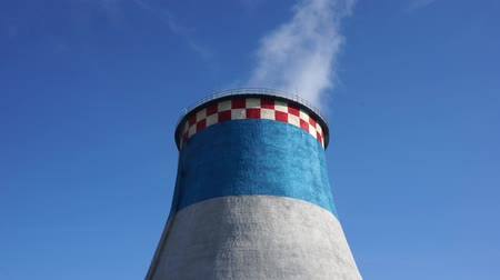 Heat and power plant cooling towers