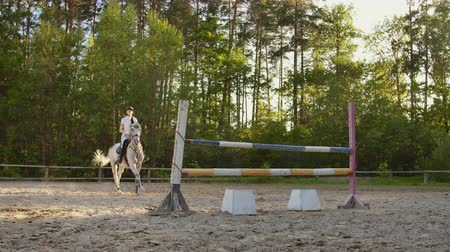 podkowa : Show jumping from young women
