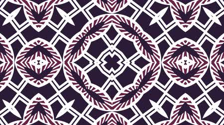 Kaleidoscope seamless loop sequence mandala patterns abstract multicolored motion graphics background. Ideal for yoga, clubs, shows 影像素材