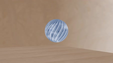 ball spin design Stock Footage