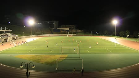 jogador de futebol : game scene, the front view of Seoul National University (SNU) main play ground, Seoul, Korea