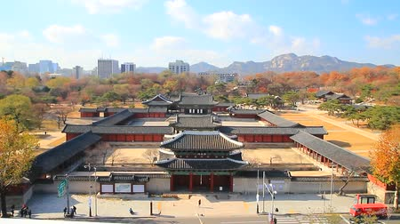 korejština : the front view of Changgyeonggung Palace, national park, ancient place, Seoul, Korea