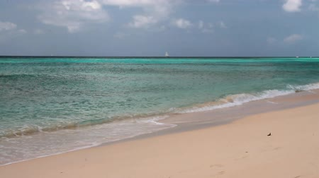 barbados : Sandy beach and sea. Brandons, Bridgetown, Barbados