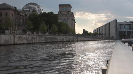 historical germany : River and city. Berlin, Germany