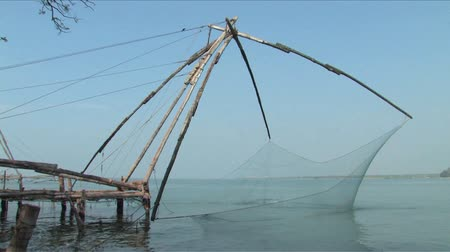 cochin : Chinese fishing nets found in Cochin, India