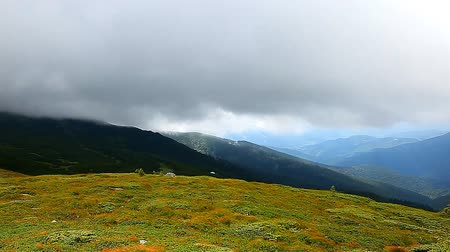 kopec : view from the top of Carpathian Mountains
