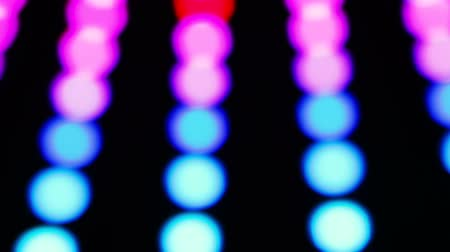 se movendo para cima : colorful dancing abstract defocused lights