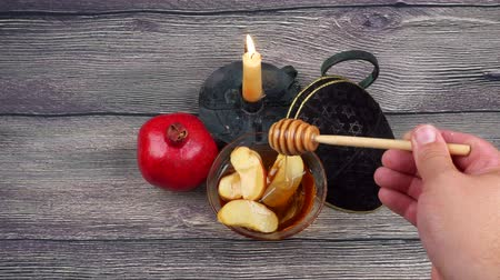 натюрморт : Rosh Hashanah celebration. Jewish New Year Holiday.