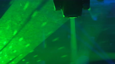 discoteca : Disco light show, Stage lights with laser