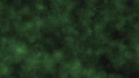 volatile : Green Smoke Background Stock Footage
