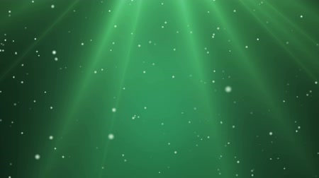 deep snow : Falling Snow Green Light