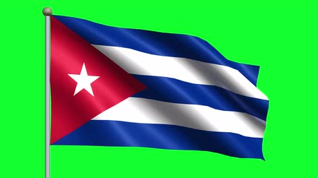 kuba : Flag Of Cuba Animation Loop