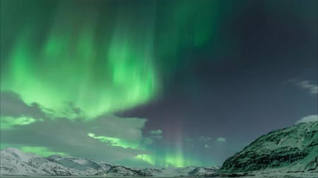 northern nature : Aurora in Iceland