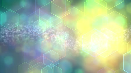 blur : Hexagonal Particles