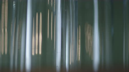 leaking : Spectral colors abstract background reflections Stock Footage