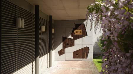 architektura : Modern architecture panoramic view of the exterior