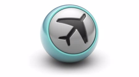 piloto : Airplane icon on ball. Looping.
