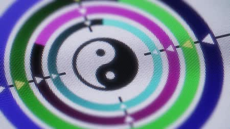 daoism : Yin-yang. Looping. Stock Footage