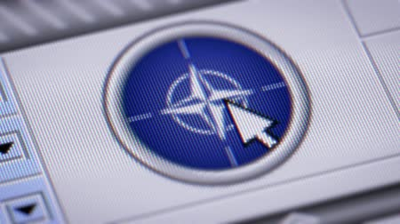 harcias : Press button with flag of NATO