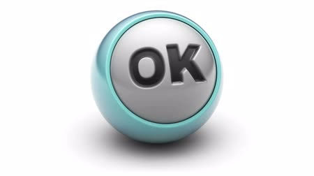 proceed : ok on the ball. Looping. Stock Footage