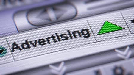 propagação : Index of Advertising. Up. Looping. Stock Footage