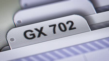 "gerarchia : ""GX 702"" sul file."