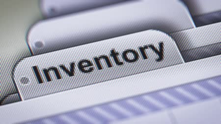 inventário : Inventory on The File.