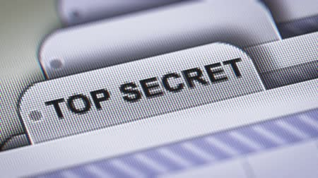 arquivos : TOP SECRET on the File.