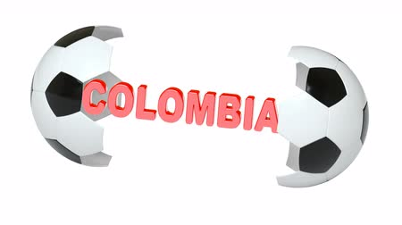 bogota : Colombia. Looping footage with Encoder Prores 4444 has 4K Resolution and the alpha channel included. Stock Footage