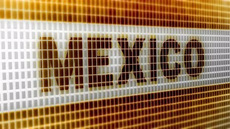 cabeçalho : Mexico on the Screen. 4K Resolution. Encoder Prores 4444. Great Quality. Looping.