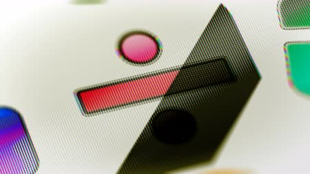 função : The computer icon in the screen. Looping footage has 4K resolution. Prores 4444. 3D Illustration.